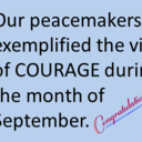 2020-2021 - Peacemakers of the Month  photo album thumbnail 1